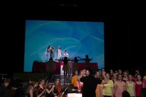 Persephone mit Chor